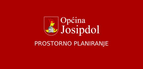Donesena Odluka o započinjanju ocjene o potrebi strateške procjene utjecaja na okoliš (UPU naselja Josipdol i PPUO Općine Josipdol)